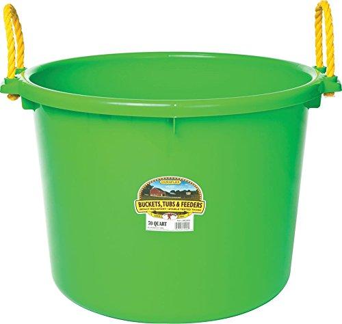 - LITTLE GIANT PSB70LIMEGREEN PSB70 Limegreen Utility Bucket, 70 Quart, Lime Green