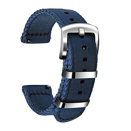 🥇 Ullchro Nylon Correa Reloj Calidad Alta Correa Relojes Militar del ejército – 18mm