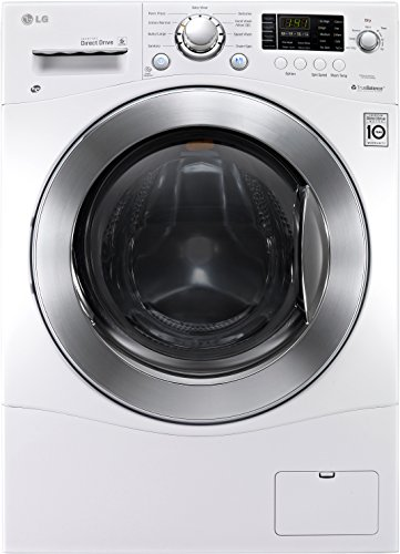 this front loading washing machine features a 23 cubic foot capacity with 9 different wash cycles to choose from itu0027s also a dryer with 4 different