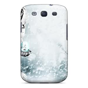 Galaxy S3 Cover Case - Eco-friendly Packaging(mr Freeze In Batman Arkham City)