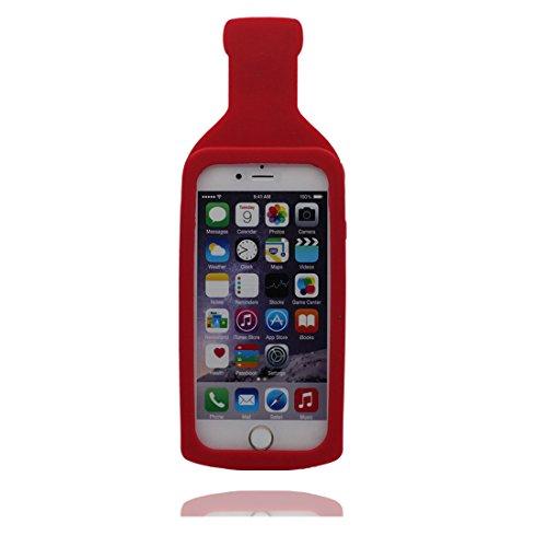 """iPhone 7 (4.7"""") Coque, [ de matériau TPU souple Hot Suce Bottle ] iPhone 7 étui (4.7 pouces), poussière glissement résistant aux rayures, iPhone 7 Case et stylet"""