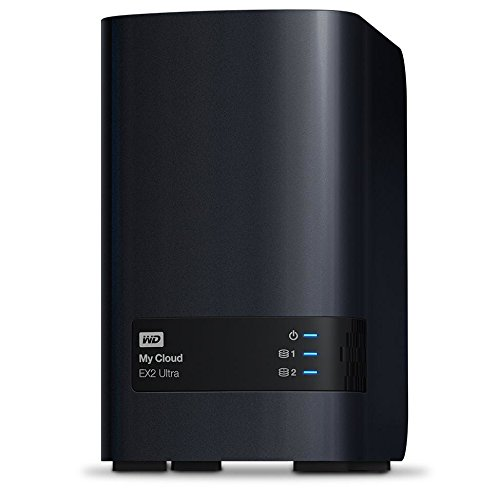 WD WDBVBZ0200JCH-NESN 20TB My Cloud EX2 Ultra Network Attached Storage