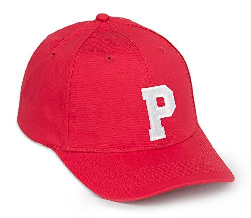 con rojo letra negro Gorra A Z en P de color béisbol letras qa6wwtgI
