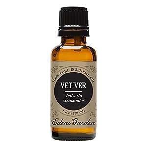 Vetiver 100% Pure Therapeutic Grade Essential Oil by Edens Garden- 30 ml