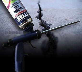 Spray de espuma Kit - Touch N Seal Spray de espuma pistola espuma de poliuretano de + 6 latas + Limpiador de pistolas: Amazon.es: Amazon.es