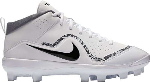 Nike Herren Force Trout Pro MCS Baseballschuh Weiß schwarz