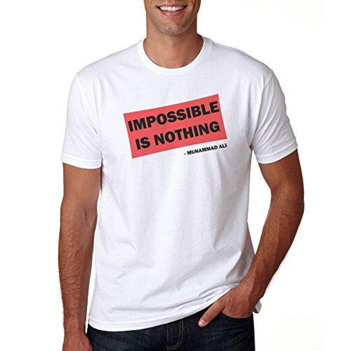 Impossible Is Nothing Muhammad Ali Herren T-Shirt
