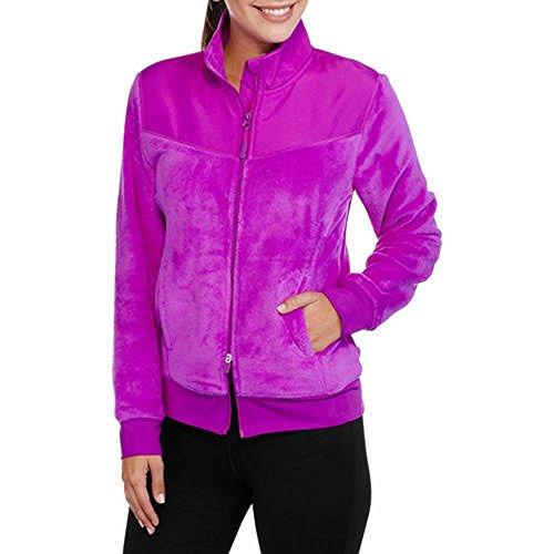 Athletic Works Women's Sport Active Fleece Full Zip Jacket (S, Sparkling ()