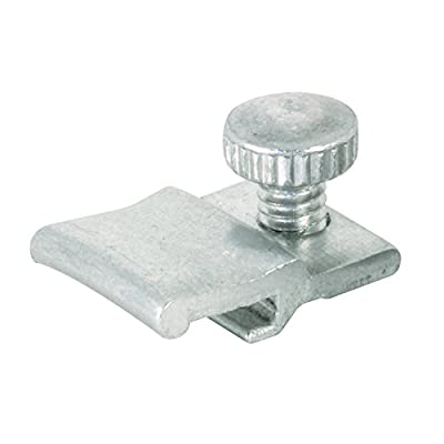 Prime-Line Products PL 14810 Self-Locking Storm Door Clip, Mill,(Pack of 25)