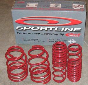 (Eibach Sportline Springs 92-00 Honda Civic (4.1740) )