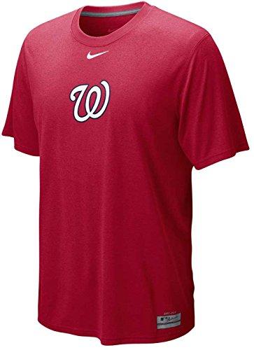 Nike Men's Washington Nationals Dri-FIT Logo Legend T-Shirt