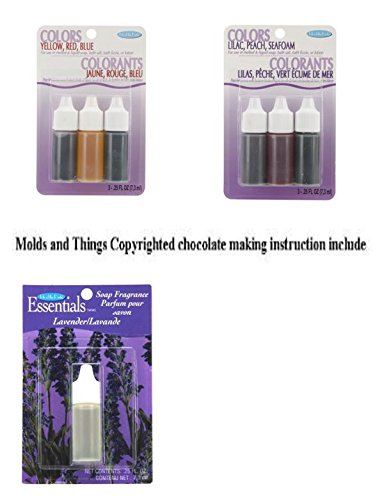 Amazon com: Lavender soap Fragrance, Colors  75oz 3/Pkg