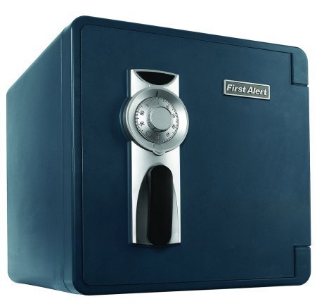 First Alert 2092F-BD-00 Waterproof and Fire-Resistant Bolt-Down Combination Safe, 1.3 Cubic Feet