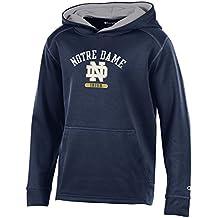 University Of Notre Dame Champion NCAA Fighting Irish Kids Boys Youth Athletic Fleece Hood