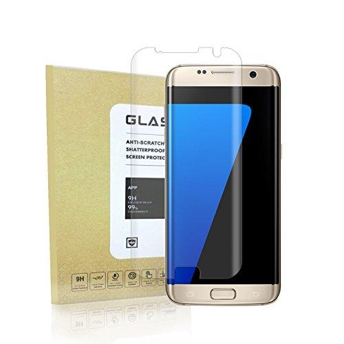 Galaxy S7 Edge Displayschutz , Antsplust 3D Full Coverage Schutzfolie Schutzglas HD Clear Screen protecter Curved Panzerglas 9H Tempered Glass f¨¹r Samsung Galaxy S7 Edge