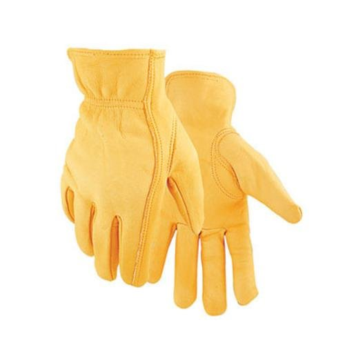 - Golden Stag Driver Gloves Deerskin X-Large Rolled Gold
