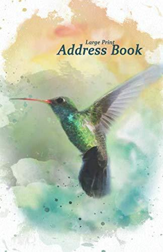 Large Print Address Book: 5.5 x 8.5