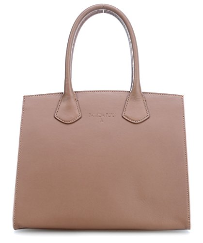 Patrizia Pepe Pepe Leather Bolso nogal