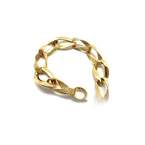 18 kt bracelet en or jaune.