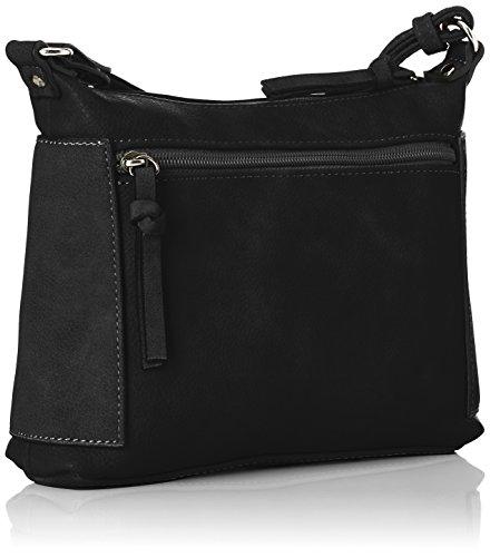 Black Tamaris Bag Crossbody Women's Edna Black Body S Comb Cross Bag FSF8Wgc