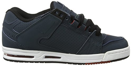 outlet new Globe Sabre Mens Trainers Slate Red cheap sale shop for OSRbPOsQf