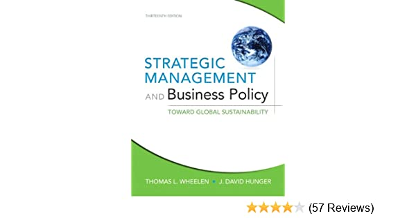 Amazon Com Strategic Management And Business Policy Toward Global
