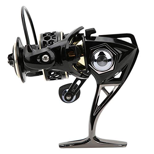 Alomejor Fishing Reel Right Left Interchangeable Casting Spinning Fishing Wheel for Saltwater Fish Bait Ice Fishing