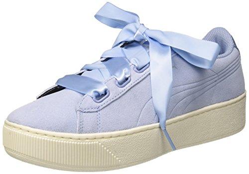 Puma Damen Ruban De Plate-forme Vikky Chaussure S Noir, 36 Eu Blau (cerulean Cerulean-04)