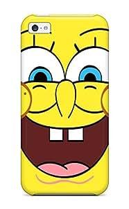 New Iphone 5c Case Cover Casing(spongebob For Laptop )