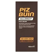 Piz Buin Allergy Face Cream SPF 50+ Very High - 40 ml by Piz Buin
