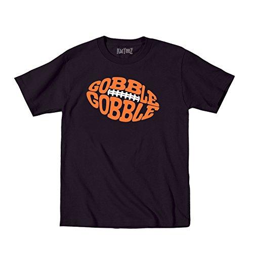 Gobble Gobble Football Cute Thanksgiving Humor - Toddler T-Shirt