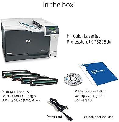 HP Laserjet Professional CP5225dn - Impresora láser (600 x ...