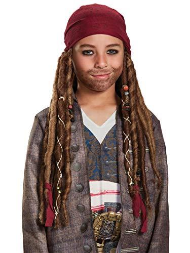 Disney POTC5 Jack Sparrow Bandana W/Dreads -