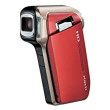 Sanyo Xacti HD700 7MP MPEG-4 High Definition 720p Camcorder with 5x Optical Zoom (Red) (Discontinued by Manufacturer)