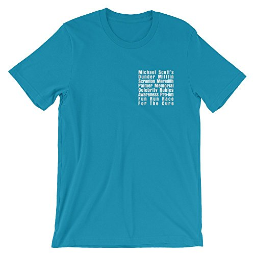 The Office Support The Rabid Adult Classic T-Shirt - Royal - X-Large Turquoise