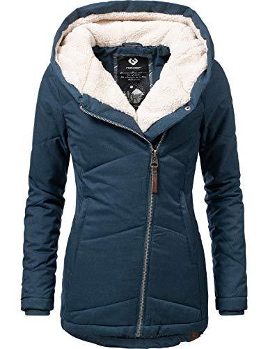 Femme Large Ragwear Bleu Bleu Blouson Large Blouson Ragwear Femme Tpx1pwZ