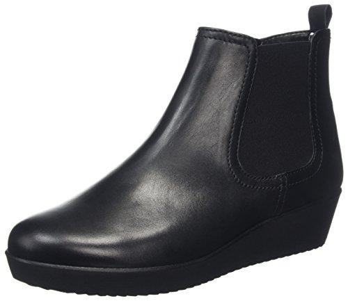 Gabor Ladies Comfort Basic Boots Black (nero (micro))