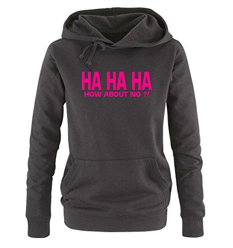Different Different Different HA Hoodie S XL XL XL Shirts HA Donna Cappuccio Colors About No fucsia How Taglia Sweater HA Comedy nero 68UAx