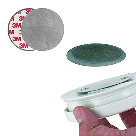 Juego de montaje de magnético para detector de humo rm149h, para una rápida montaje sin boren: Amazon.es: Hogar