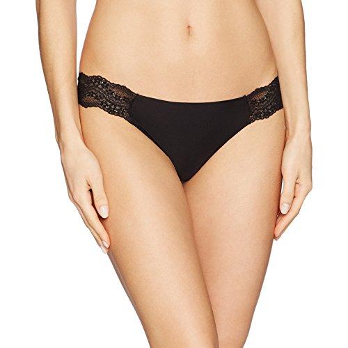 b.tempt'd by Wacoal Women's B.Bare Thong Panty, Night S ()