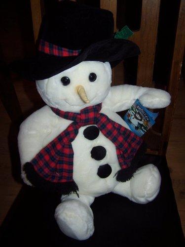 - Snowden Large Plush Snowman 1997 22 Tall