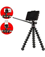 Joby Griptight Pro Video Gorilla pod Stand for Any Video Phone, Black, (JB01501-BWW)