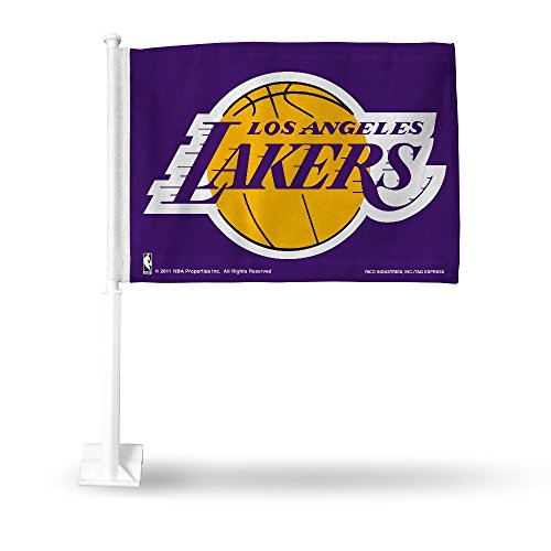 - Rico Industries NBA Los Angeles Lakers Car Flag