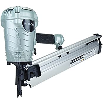 Hitachi NR90AES1 2-Inch to 3-1/2-Inch Plastic Collated Framing Nailer