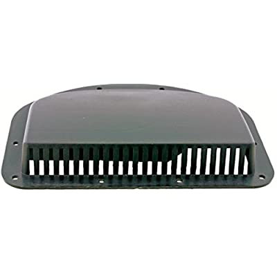 "Kaper II L12-0020 Black Fits 3"" hole Trailer Vent Cover,1 Pack: Automotive"