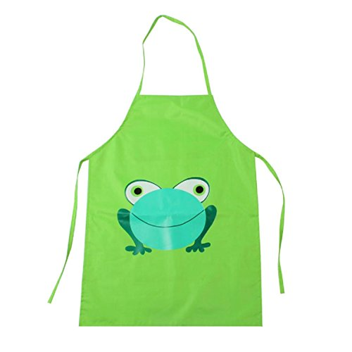 Hello Kitty Costume For Adults Plus Size (Apron Bibs, Witspace 1PC Kids Waterproof Aprons Children Frog Print Apron Paint Eat Drink Outerwear Toddlers Apron Bibs (Green))