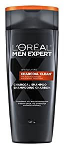 L'Oreal Paris Men Expert Charcoal Clean Shampoo, 385 ML