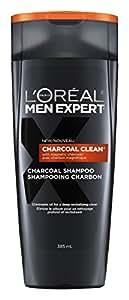 L'Oreal Paris Men Expert Charcoal Clean Shampoo, 385-Milliliter