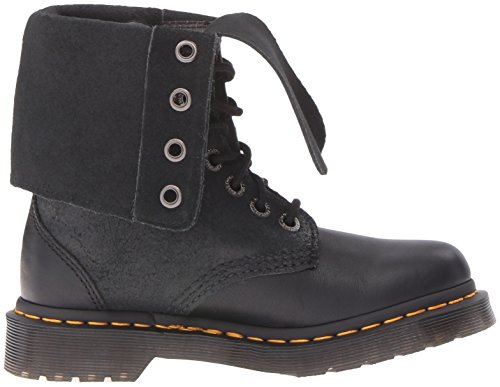 Dr. Martens Women's Hazil Boot Black Virginia Leather Boot, Black Virginia Leather, 4 Medium UK (6 US) by Dr. Martens (Image #7)