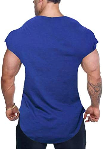 WEIMEITE Fitness Tank Top Hombres Gimnasios Stringer ...